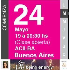 Taller de Being Energy para mujeres en Buenos Aires
