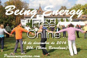 Evento online gratuito de Being Energy