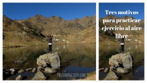 Tres motivos para hacer ejercicio al aire libre
