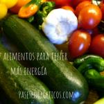 Diez alimentos para tener más energía