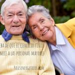 La prueba de que el ejercicio físico rejuvenece a las personas mayores